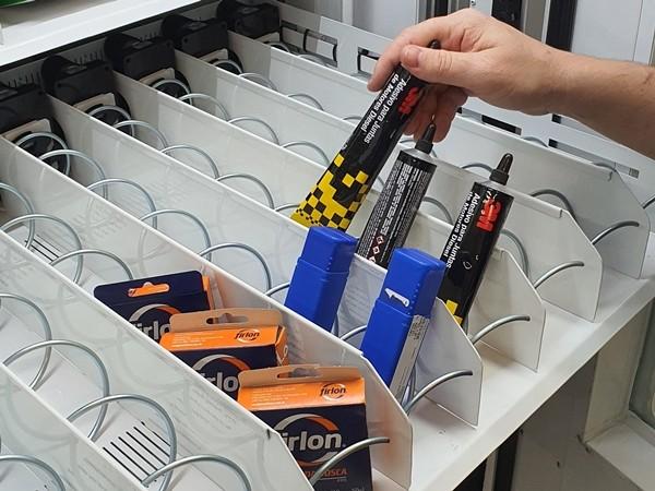 Abastecimento da Vending Mechine