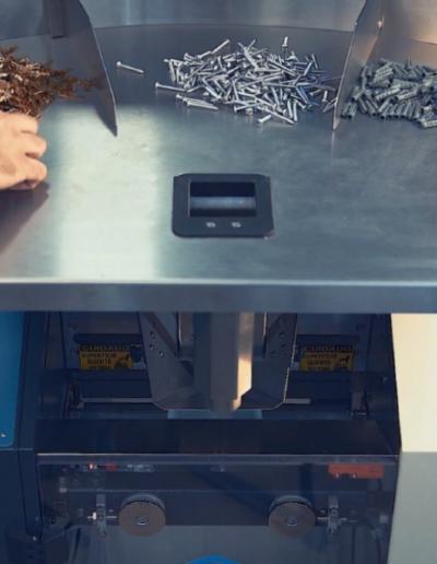 Smart Count - Mesa para montagem de kits e contagem de produtos
