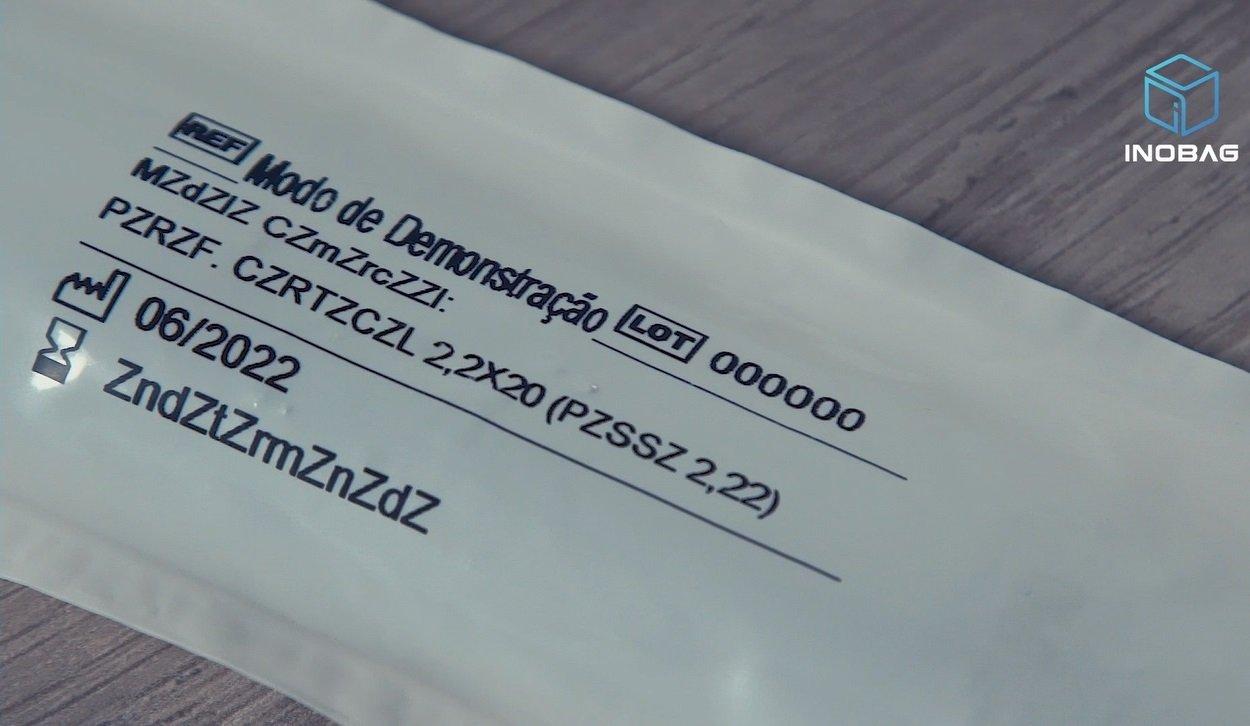 etiqueta genérica - Seladora de embalagens Flex+