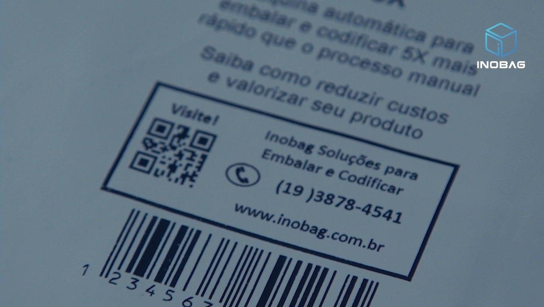 etiqueta mv - Seladora de embalagens Flex+